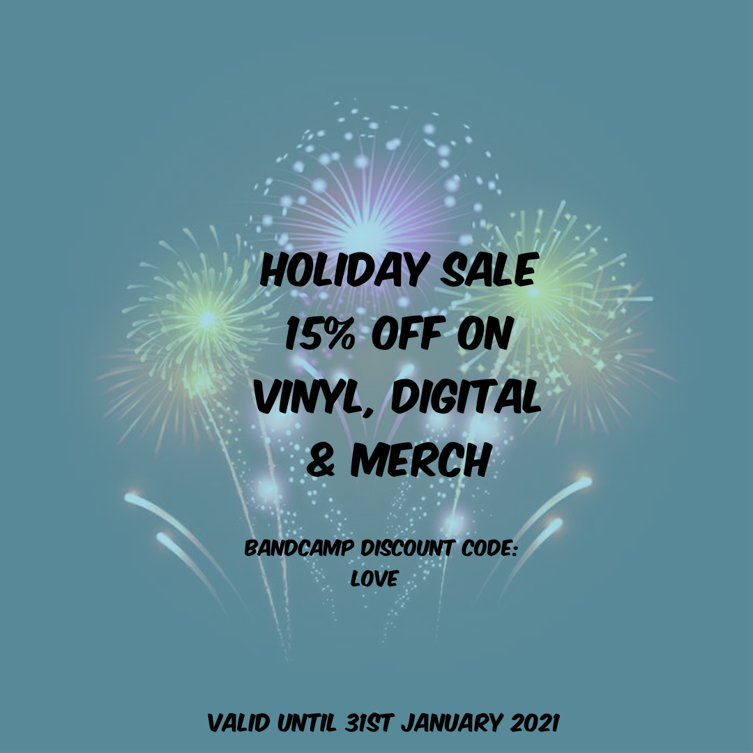 Holiday Sale on Bandcamp