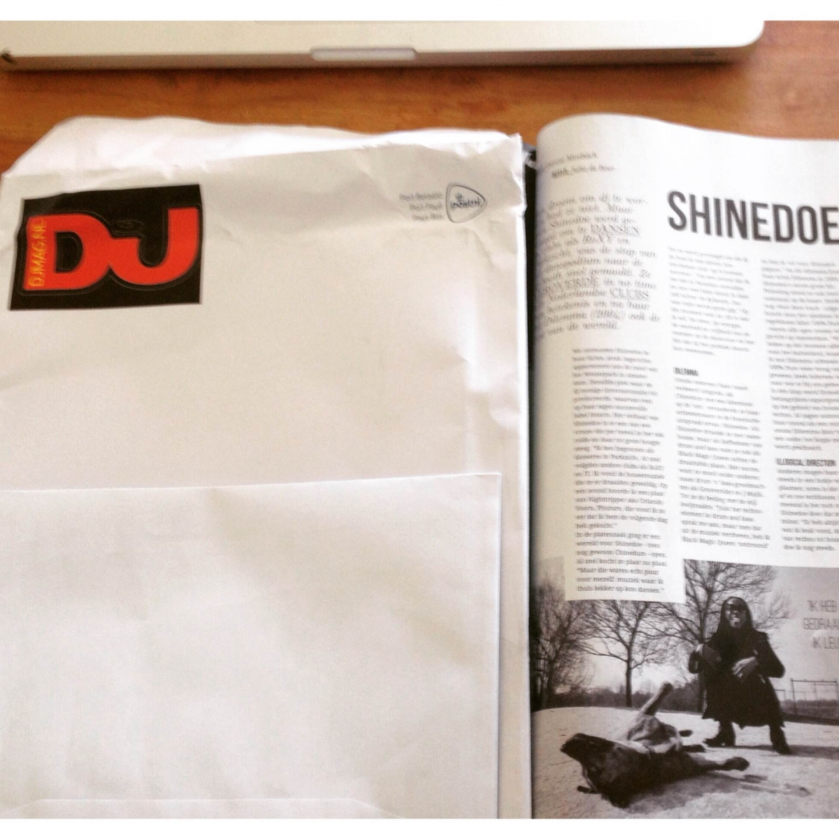 Shinedoe interviewed by DJ Mag NL