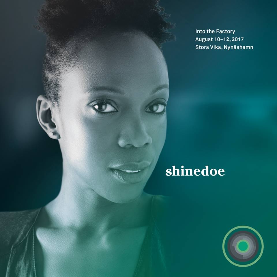 Shinedoe joins In to the Factory Festival Stora Vika in Sweden 2017