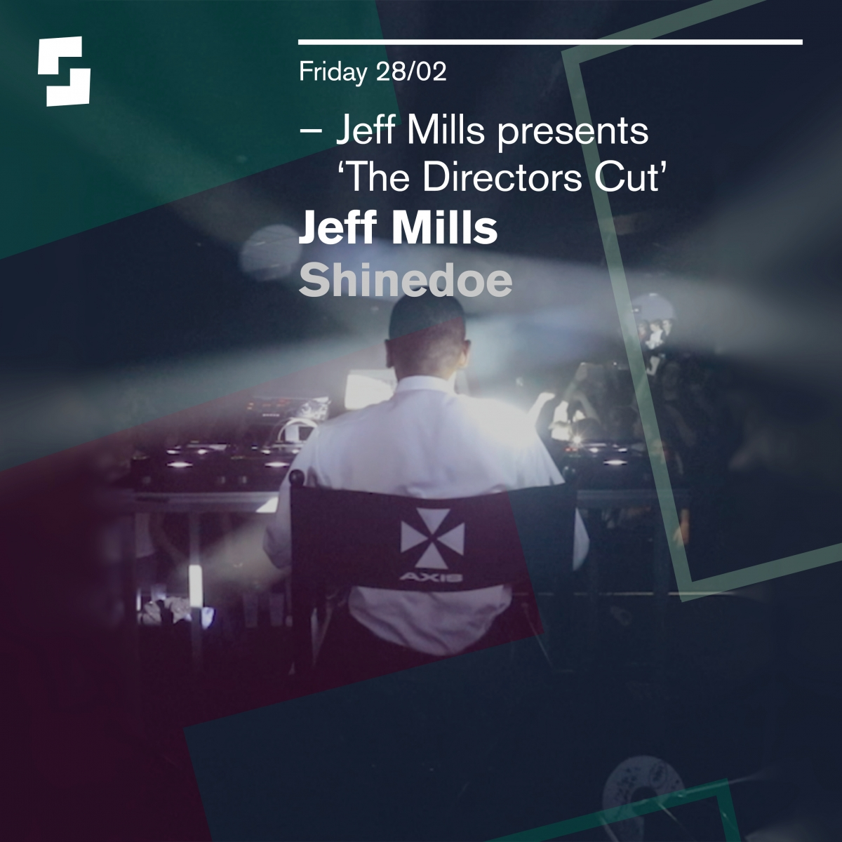 Jeff Mills and Shinedoe at Shelter Amsterdam